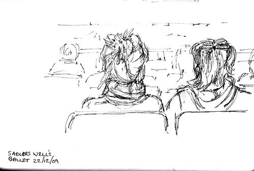 Sadlers Wells audience