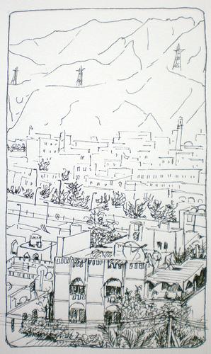 View of Al Khuwair, Muscat, Oman