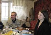 Папа и доча. Валера и Санечка