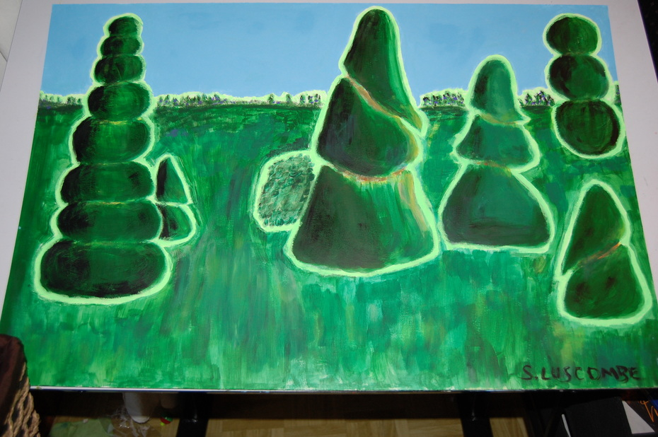 Surreal Forest - sold