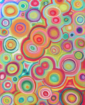 Bubbly Abstract