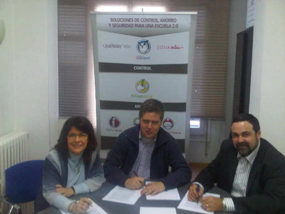 Acord entre Qualiteasy, ClickArt Web y E-Sonde per la comercialització de la solució conjunta ClickEdu