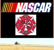 Firefighter + Harley's + NASCAR = Great Times