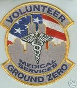 WTC-GROUND ZERO VOLUNTEERS