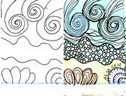 Sea - Nature Divination card template