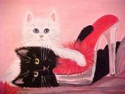 Designer Shoes & Black Cat