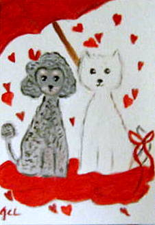 Pogo & Lucy Series - It's Raining Hearts