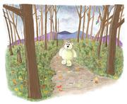 11-Bear walking through Nov woods FINAL