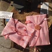 Handwoven cotton envelope pouches