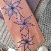 Graphite and carbon on Juniper/Cedar