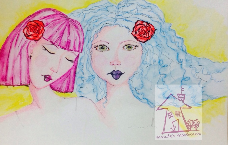 'Roses in our hair'
