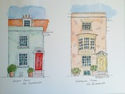 Historic 17c houses, Old Portsmouth