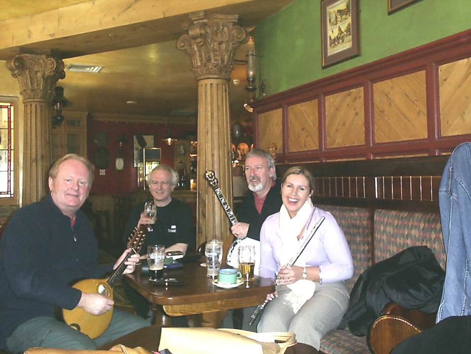 Dublin me on Mandolin