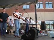 On stage, East Lansing, Michigan, 2006