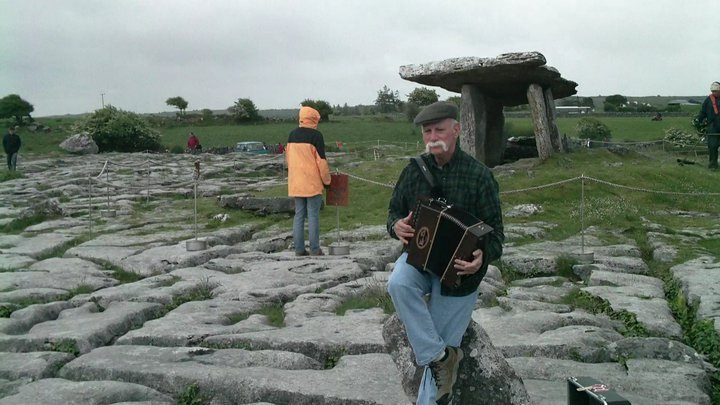Playin @ the Poulnabrone, The Burren, County Clare, @ Fleadh Nua 2010