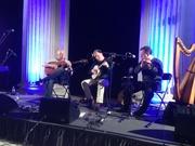 John and James Carty with John Blake, 26 Jan 2013