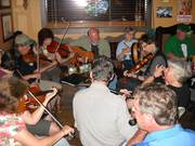 Session at McSharry's Irish Pub, Fairhope, AL