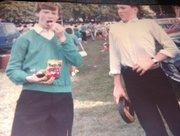 Kevin Webster & Michael Walsh. St Malachy's Céilí Band. All Ireland 1984.