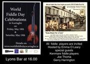 World Fiddle Day Scartaglin Fiddle Recital