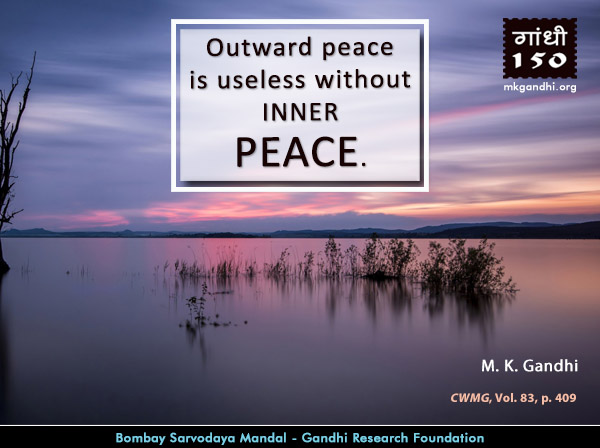Thought For The Day ( PEACE )
