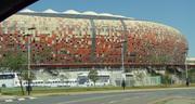 Stadium closeup