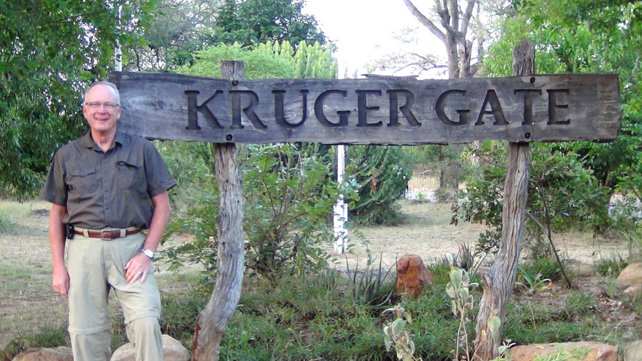 David at Kruger Gate