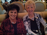 Shirley Schmidt and Kathy