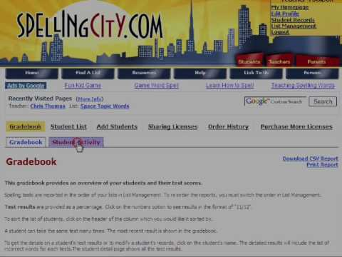 SpellingCity Premium Membership