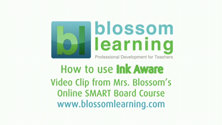 Understanding Ink Aware in SMART Notebook Software – from Blossom Learning