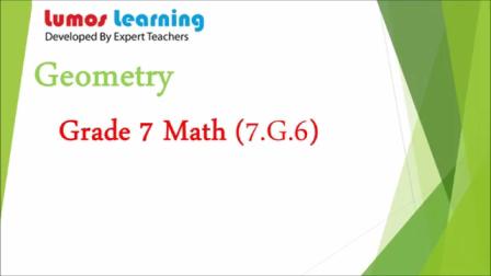 Geometry Grade 7 Math Educational Video (7-G-6)