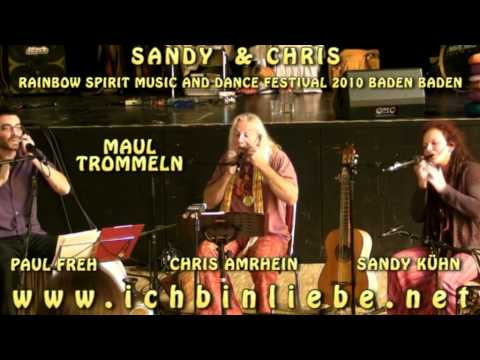 Chris Amrhein - Sandy Kuehn - Paul Freh - Maultrommeln Rainbow Spirit 2010.VOB