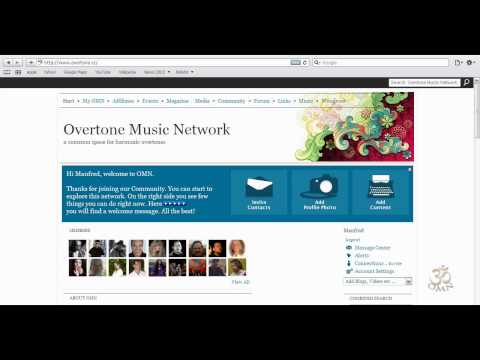 Tutorial - Introduction of Overtone Music Network