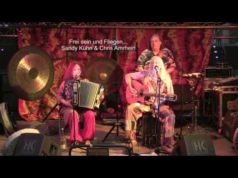 """Sandy Kühn und Chris Amrhein """"Ich bin Liebe"""" open Air Konzert Grenzenlos Messe Hofheim 2012"""