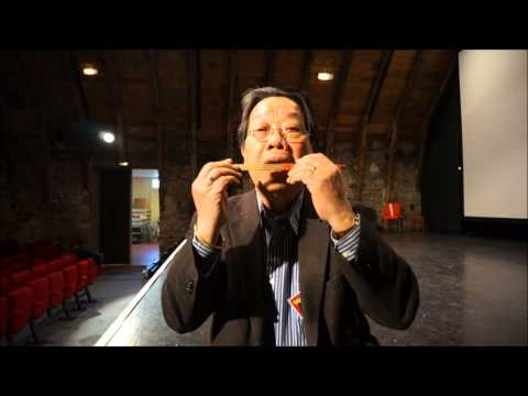 TRAN QUANG HAI plays the bamboo Jew's harp for Victoria St Project 2013