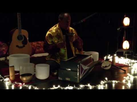 "Throat Singing ""Tibetan Style"" - Om Mane Padme Hum - Healing Sound Meditation"