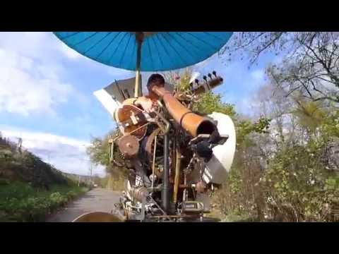 "Rolling Music Machine, Didge & Sitar ""Jump"""