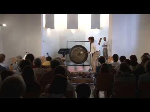 Mikuskovics: Obertongesangswoche / Overtone Singing Week 2011 - Konzert / Concert - Gong Solo