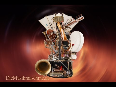 "Steampunk Music Machine ""Blackhole"""