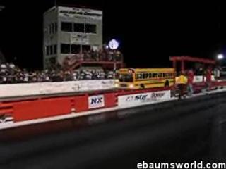 Drag racing Bus