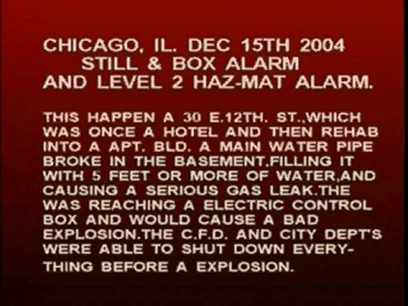 GAS DANGER / CHICAGO,IL. / 2003