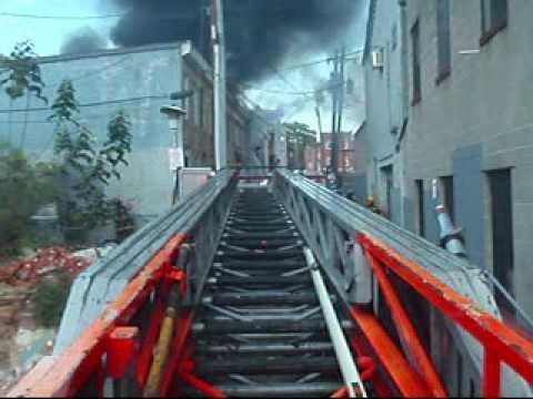 Baltimore 2-Alarm Fire