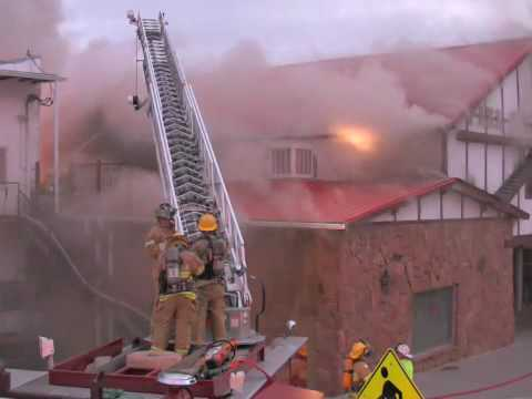 Estes Park (CO) Building Fire