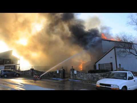 Texas Townhouse Fire
