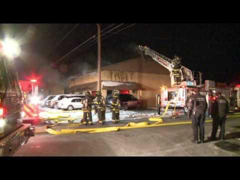 Allentown (PA) Building Fire