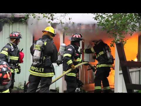Felton (CA) Structure Fire