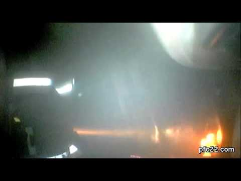 Working House Fire FC II Helmet Cam