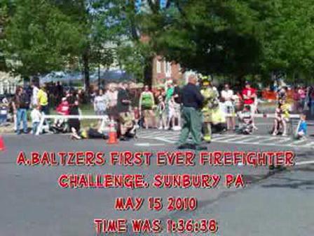 Sunbury (PA) Firefighter Challenge