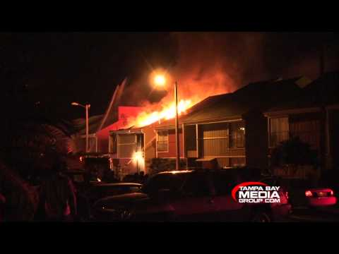 Tampa Apartment Fire