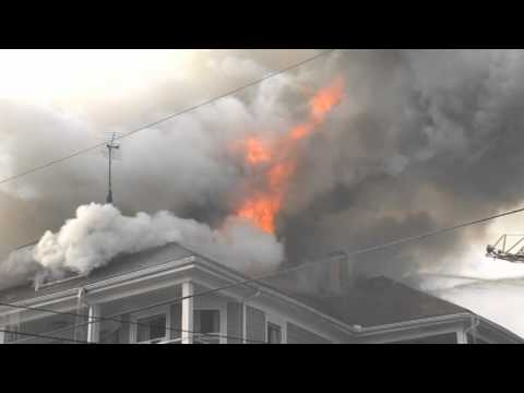 Fire Spreads to Exposure in Woonsocket