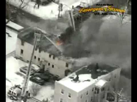 Fairport Harbor (OH) Gas-Fed Fire